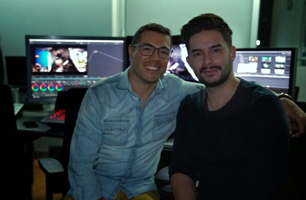 trabajo de VFX con Gabriel Garrido