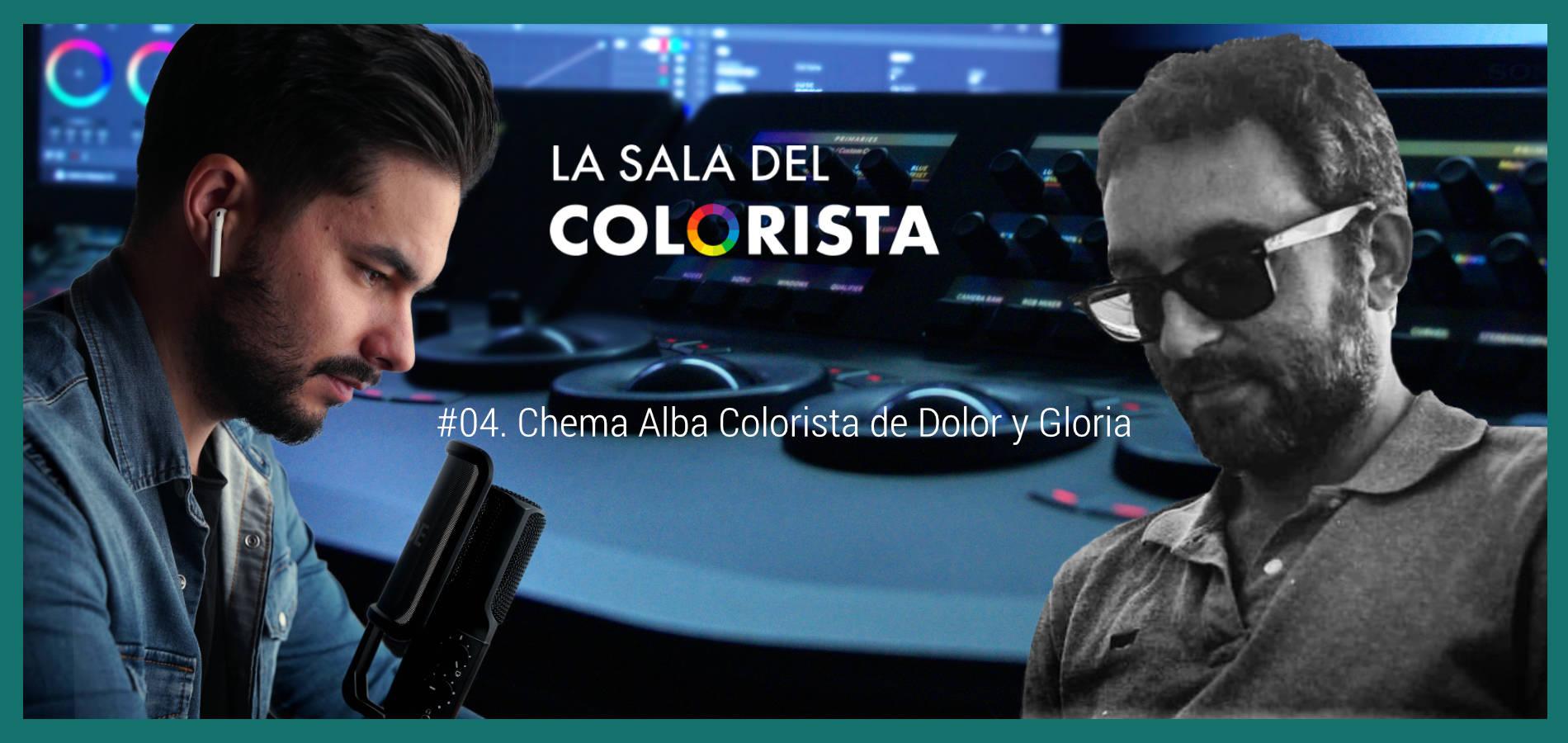 La Sala del Colorista Chema Alba