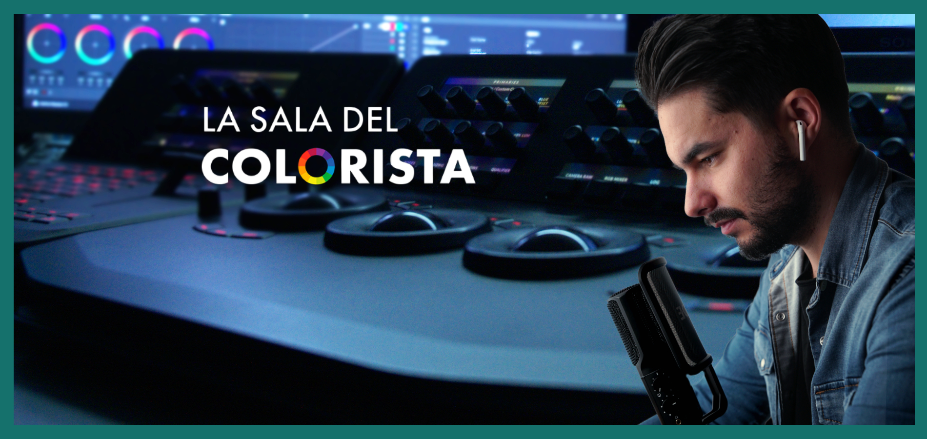 la sala del colorista audiovisual el podcast