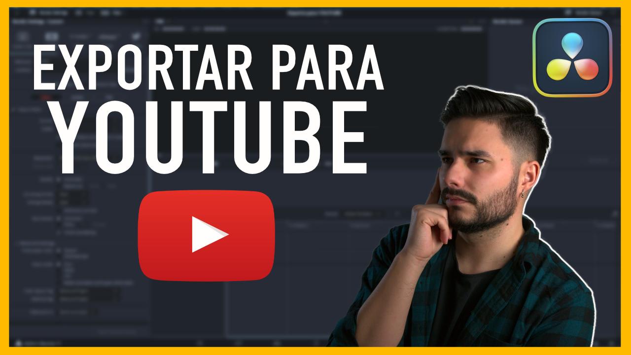 Cómo exportar video para youtube